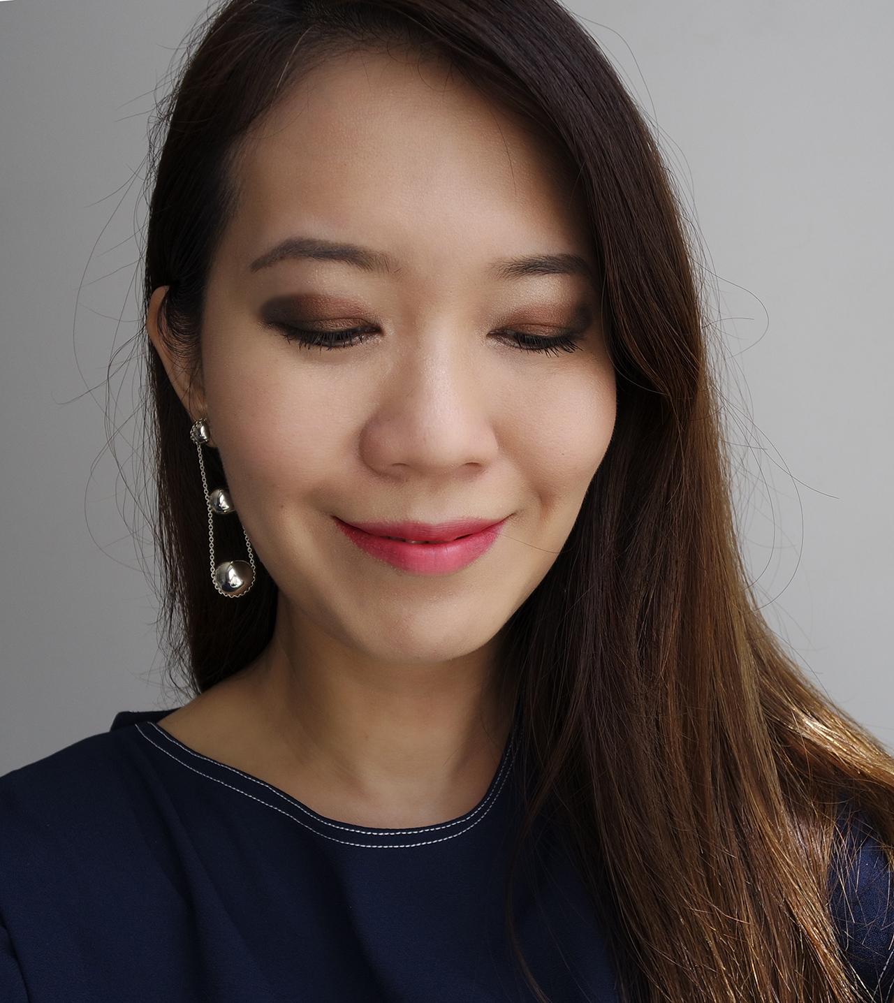 Chanel Les 9 Ombres Palette Affresco makeup look 2