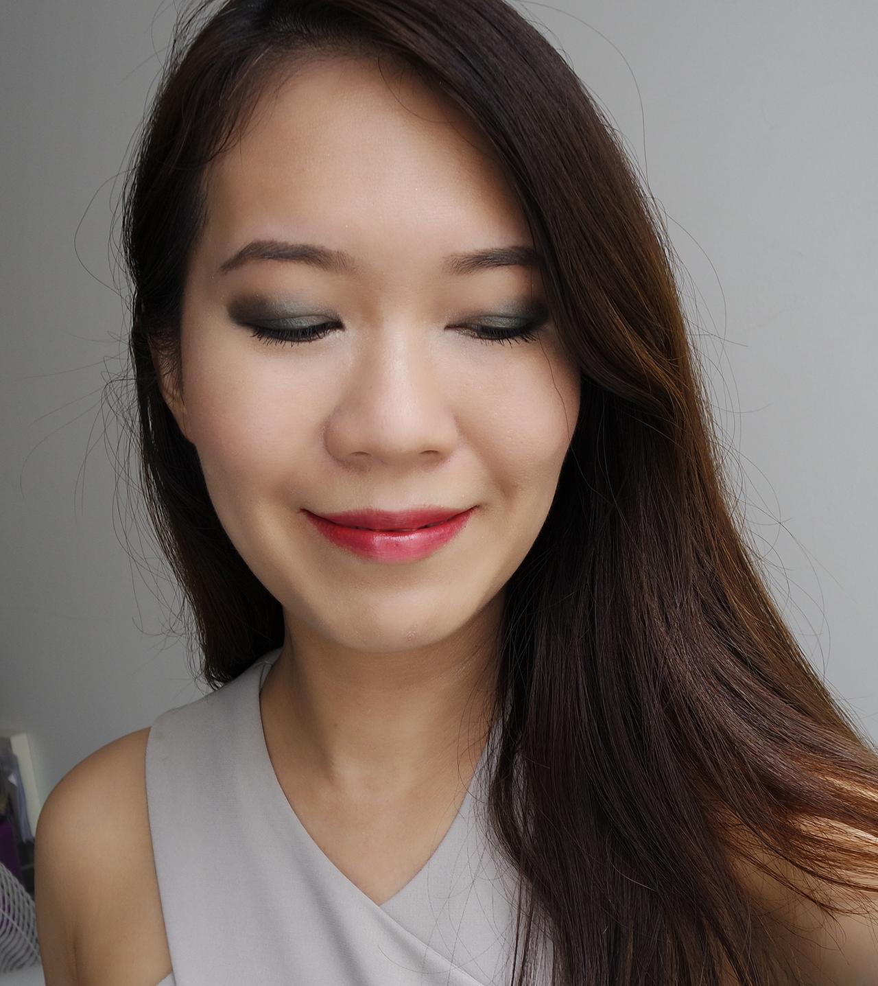 Chanel Les 9 Ombres Palette Affresco makeup look 1