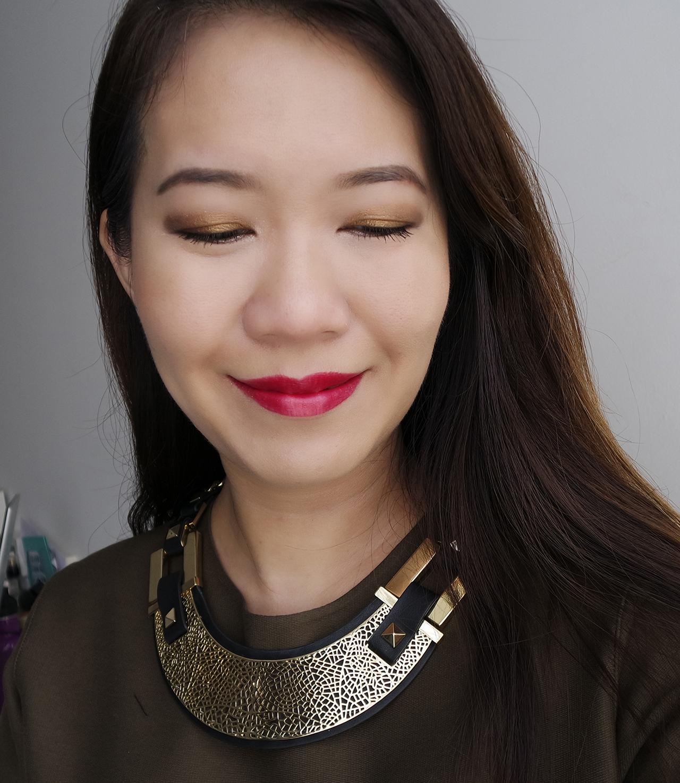 Guerlain Holiday 2017 makeup look