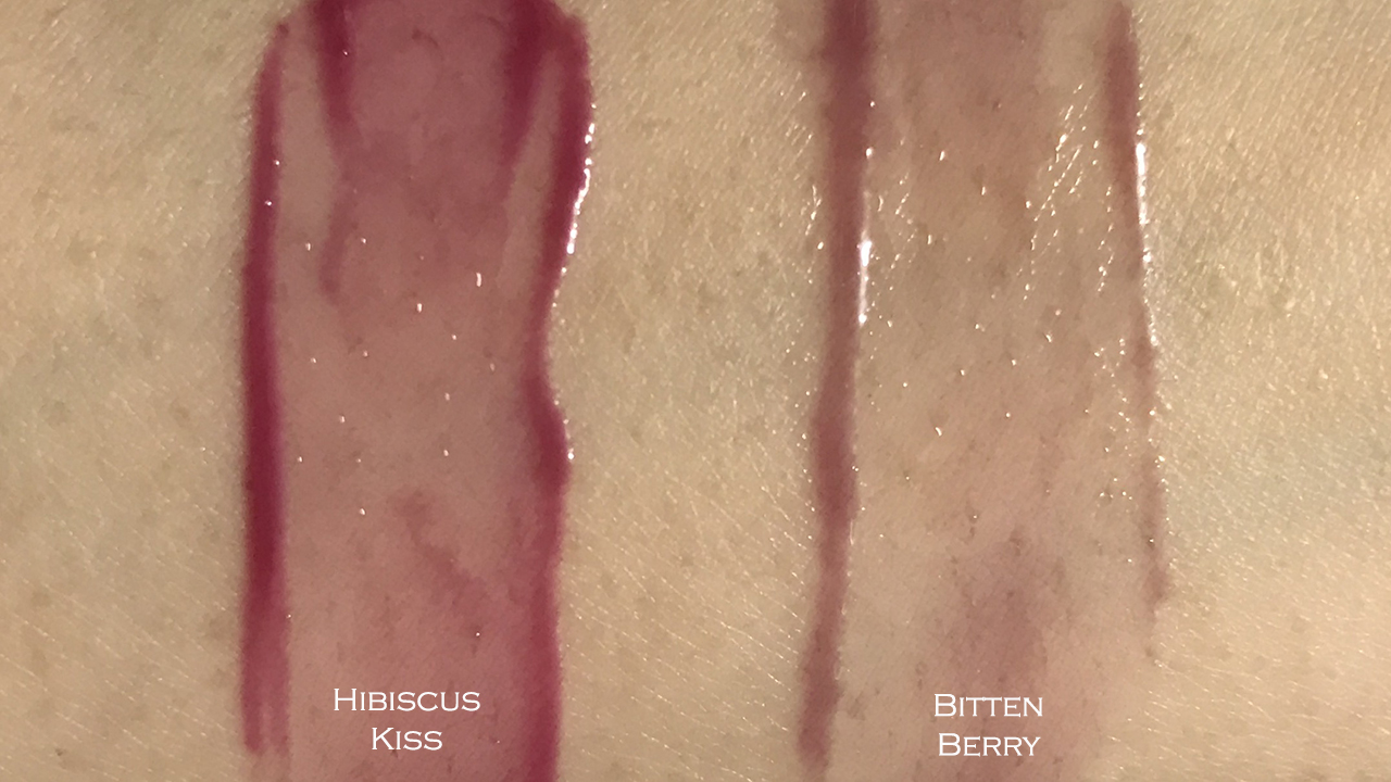 Tom Ford Lip Slick swatches