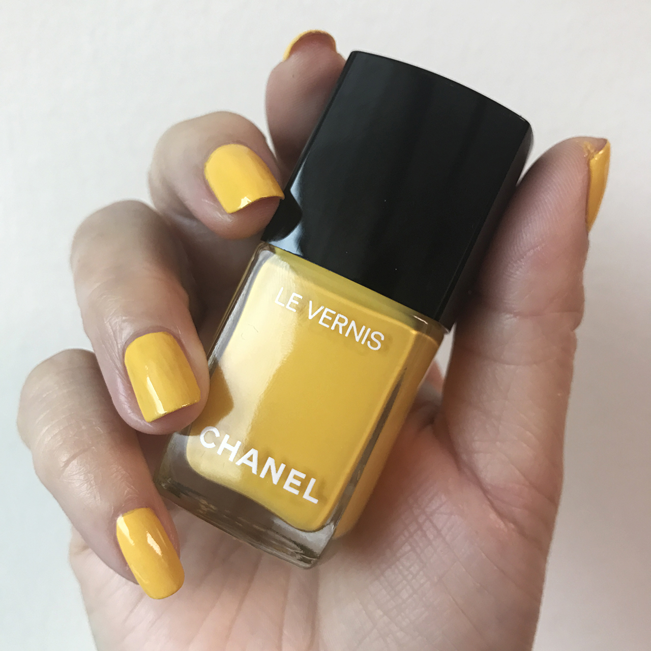 Chanel Le Vernis Giallo Napoli from Neapolis Collection
