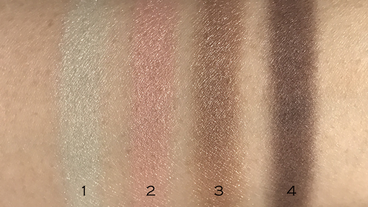 Chanel Les 4 Ombres Premiere Eclosion swatches