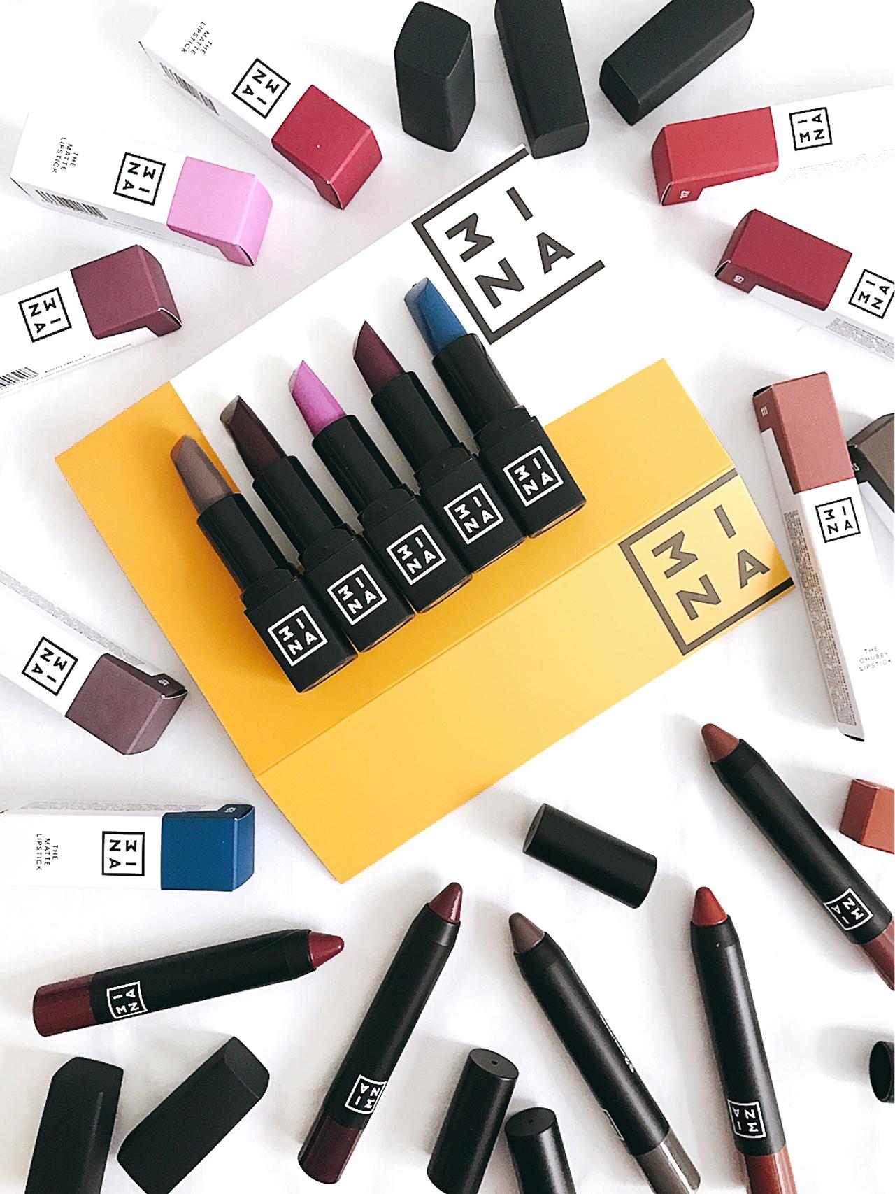 3ina The matte lipstick & the chubby lipstick