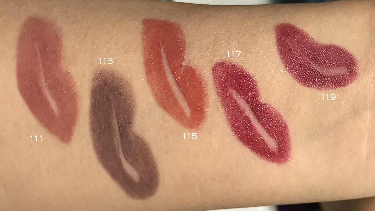 3ina the chubby lipstick swatches