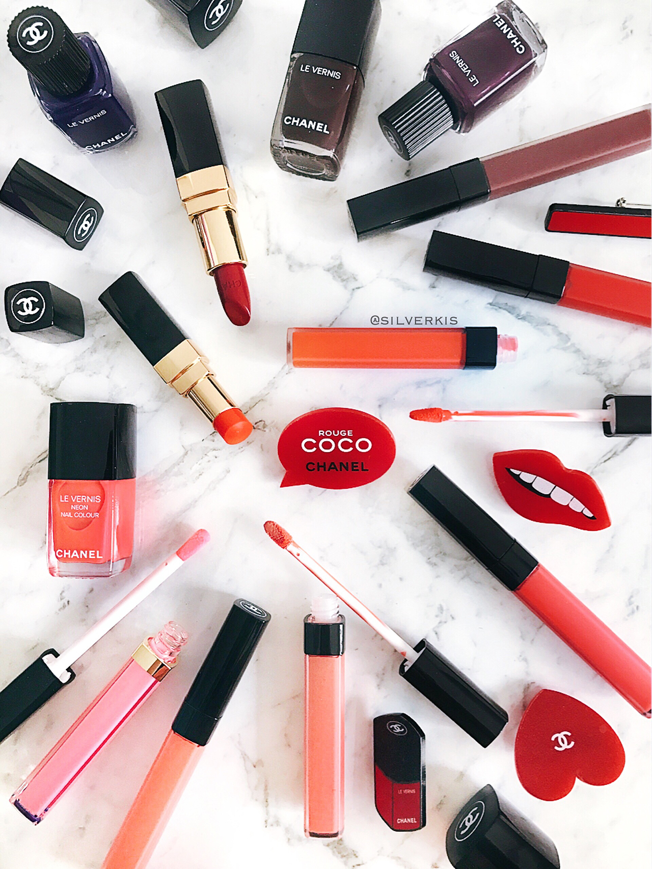 Chanel Rouge Coco 2018 Collection