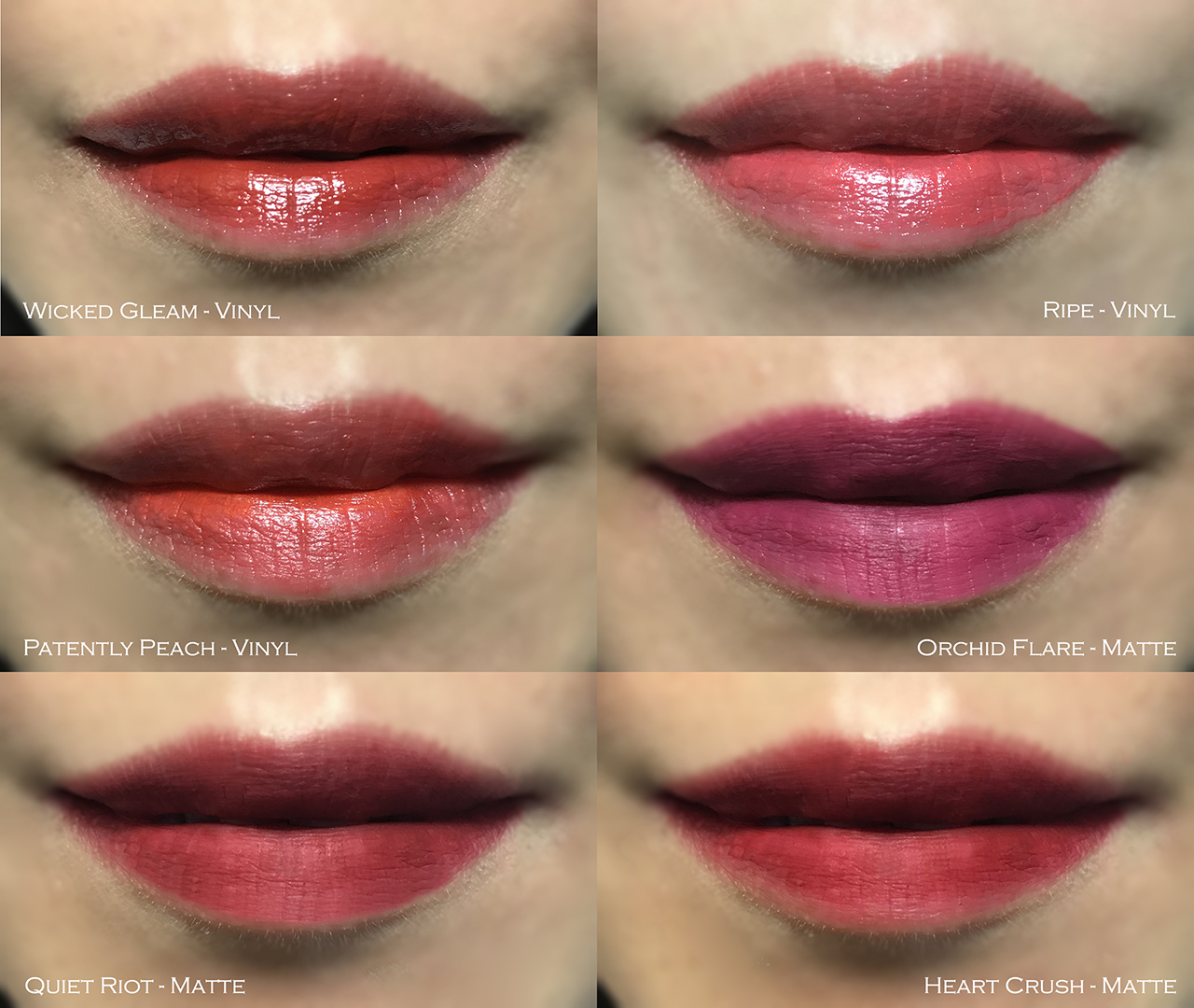 Estee Lauder Pure Color Envy Liquid Lip Color swatches
