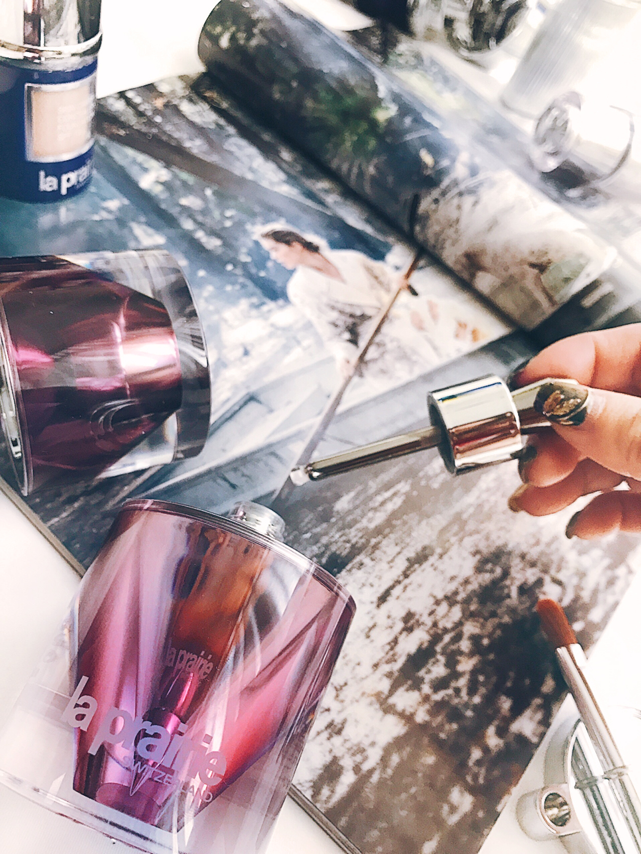 La Prairie Platinum Rare Cellular Night Elixir