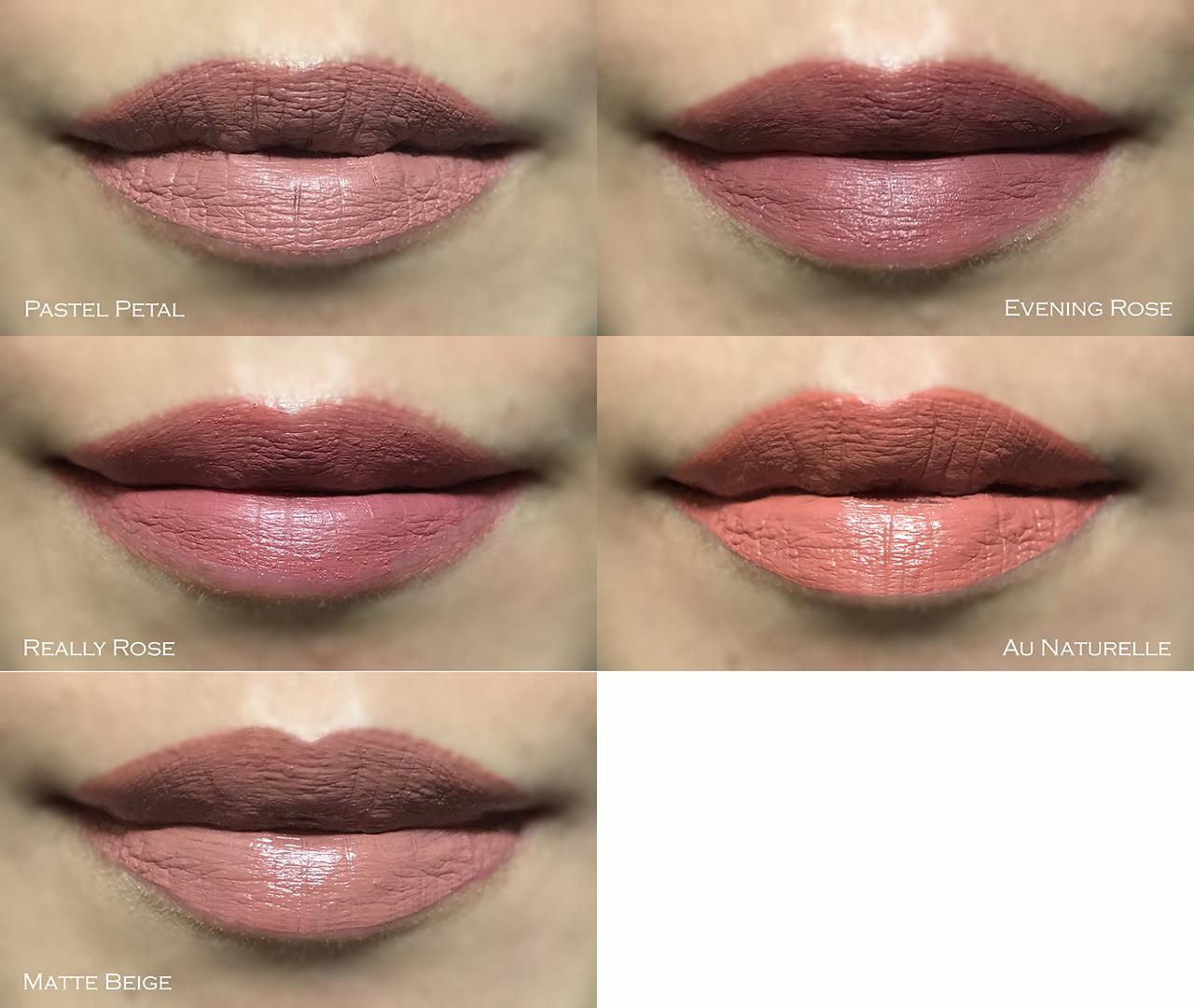 Pixi MatteLast Liquid Lip lip swatches