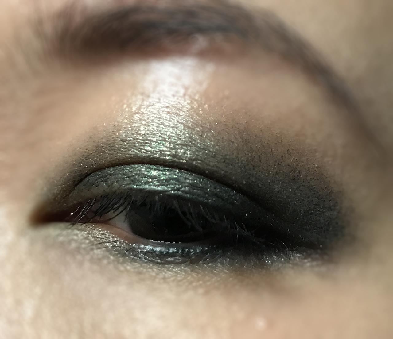 Tom Ford Cream & Powder Eye Color Emerald Isles eye look
