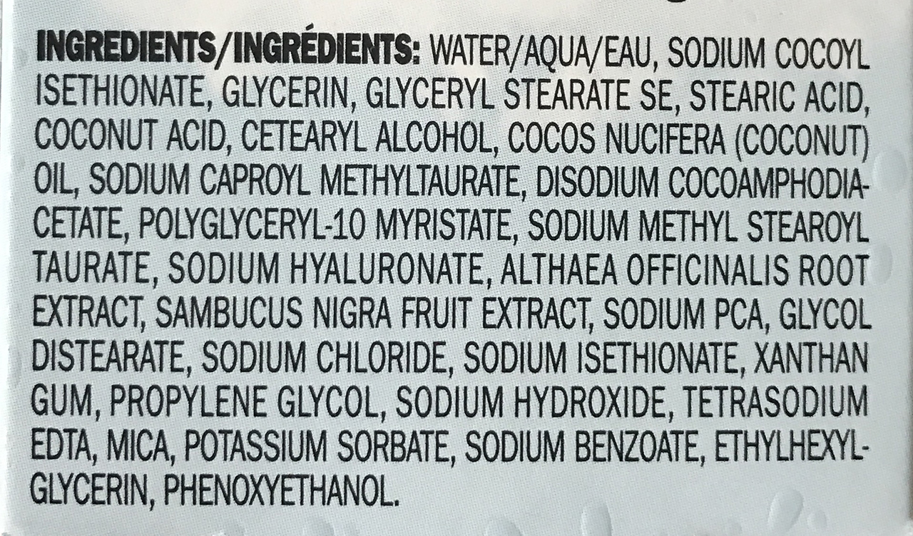Peter Thomas Roth Water Drench Cloud Cream Cleanser ingredients