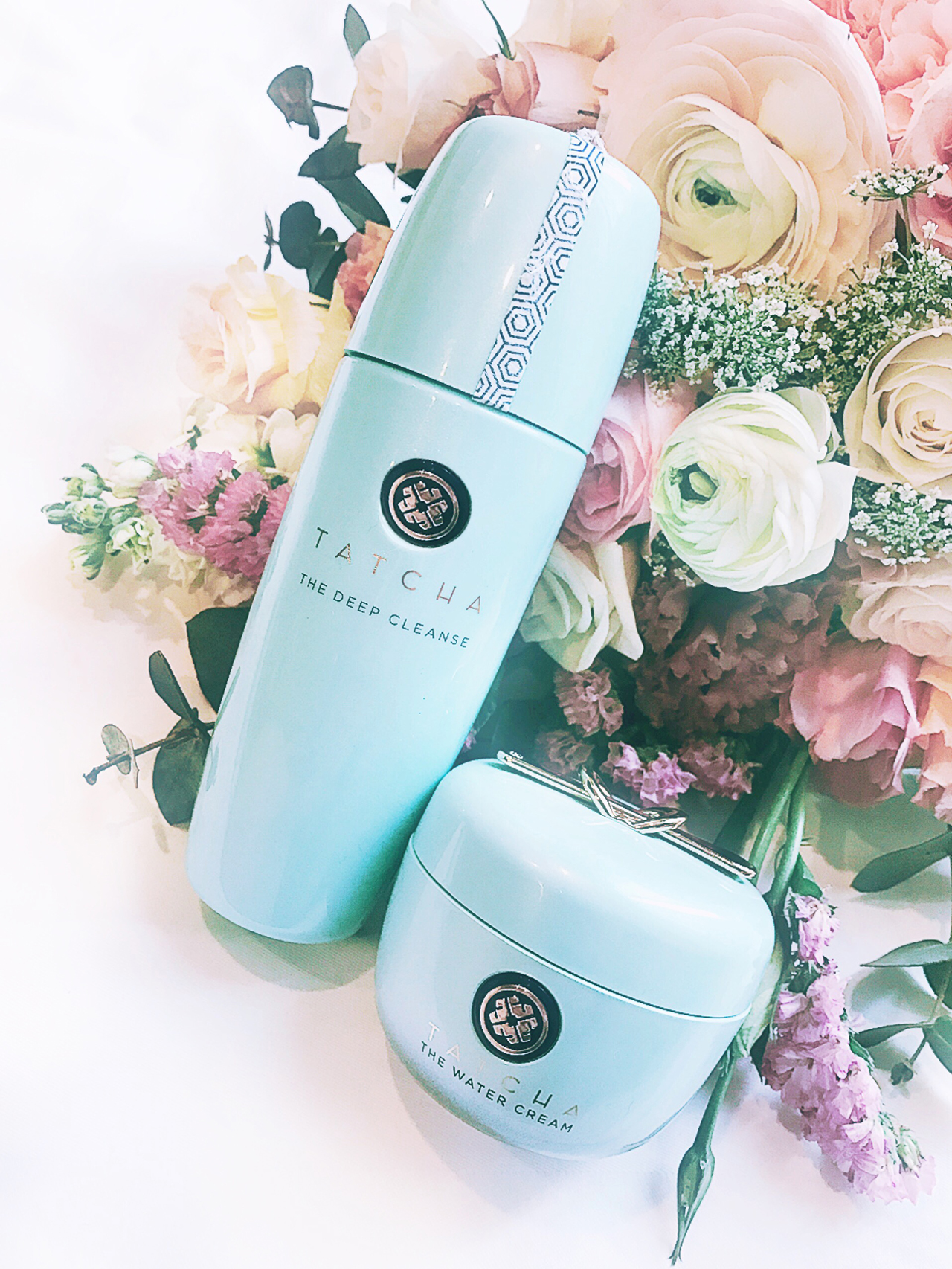 Tatcha The Deep Cleanse & The Water Cream