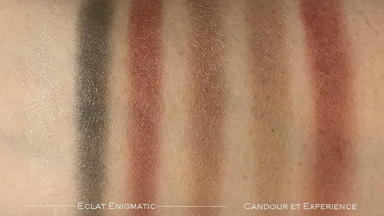 Chanel Creation Exclusive Eclat Enigmatique swatches