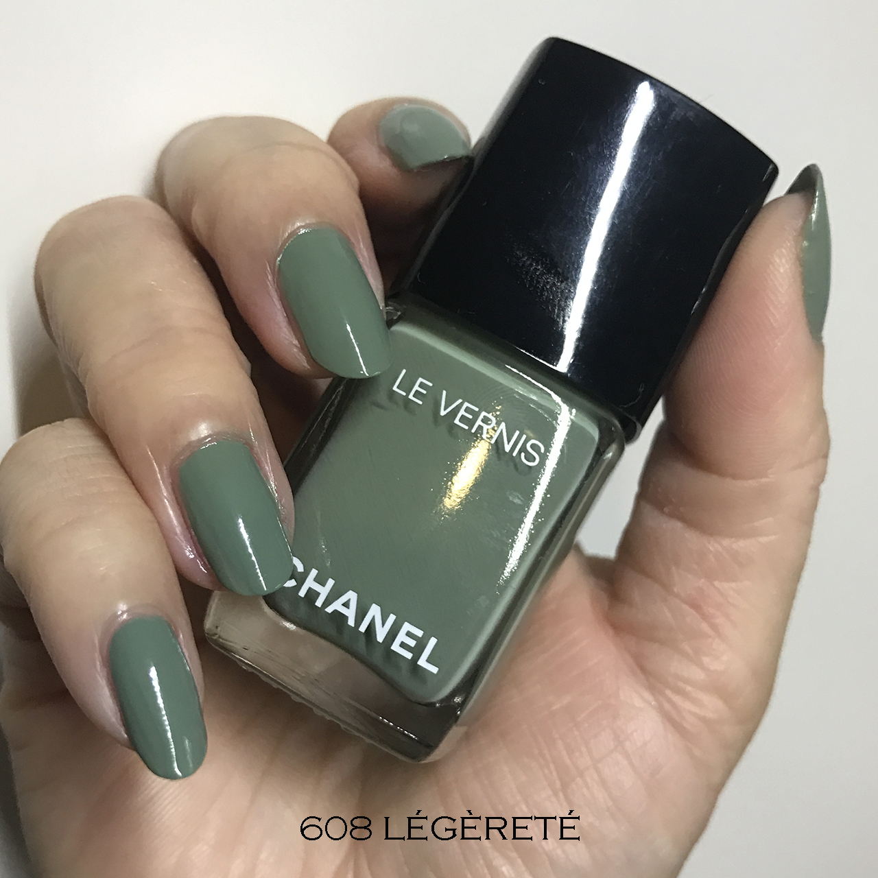 Chanel Le Vernis 608 Legerete swatch