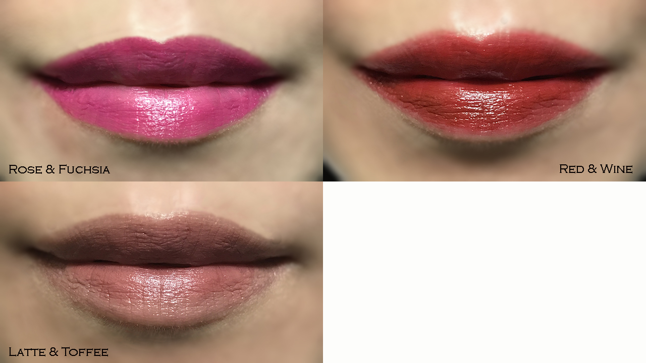 By Terry Twist-on-Lip lip swatches
