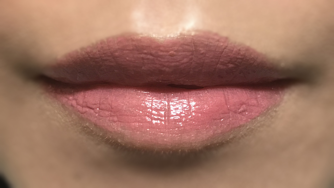 Cosme Decorte The Rouge PK853 lip swatch