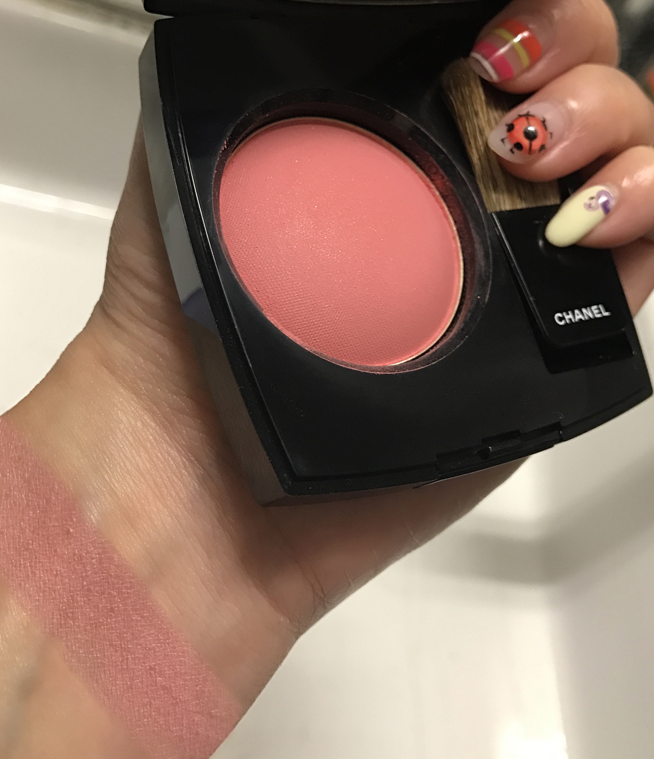 Chanel Joues Contraste Quintessence swatch