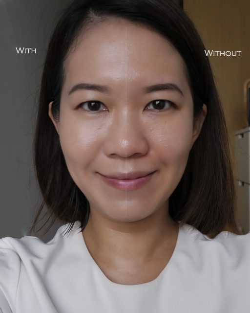 La Prairie Skin Caviar Essence-in-Foundation before after