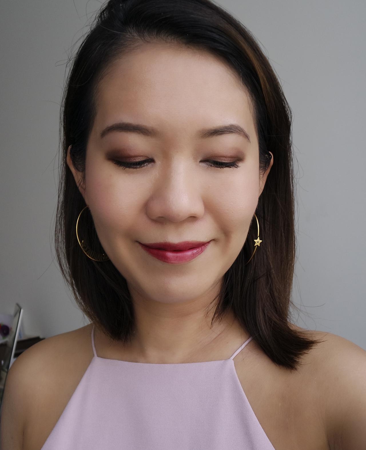 Lunasol Summer 2018 makeup look