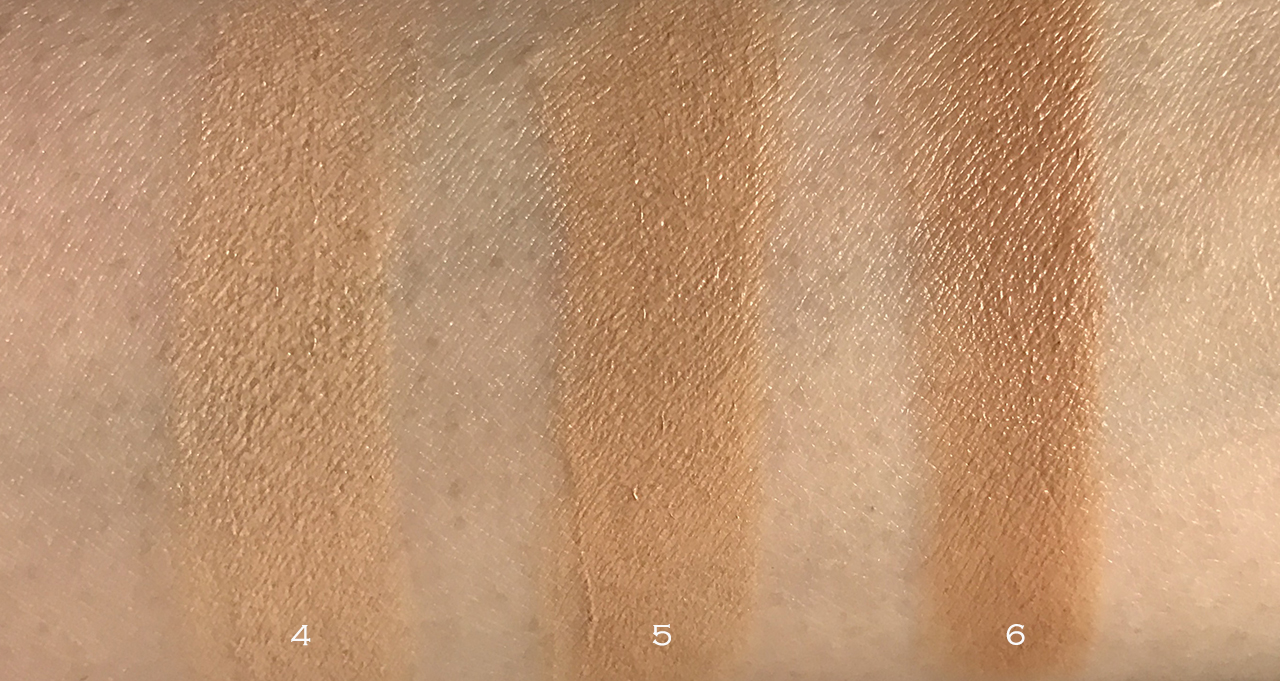 Nudestix Nudies Tinted Blur medium swatches