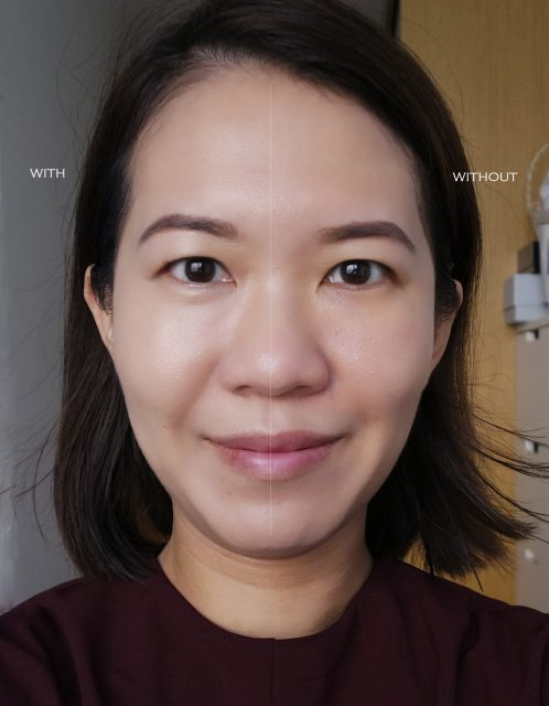 Chanel Vitalumiere Glow Cushion before after