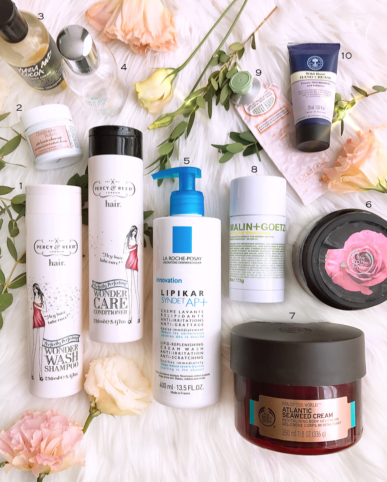 Empties 08 - hair & bodycare