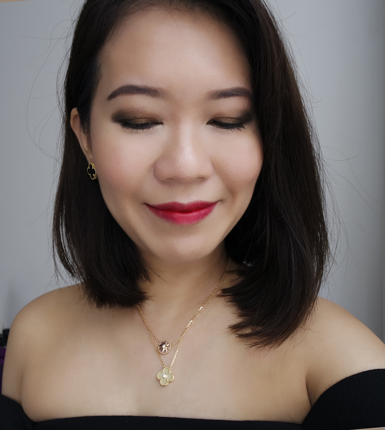 Evening makeup look from Chanel Le Libre Maximalisme