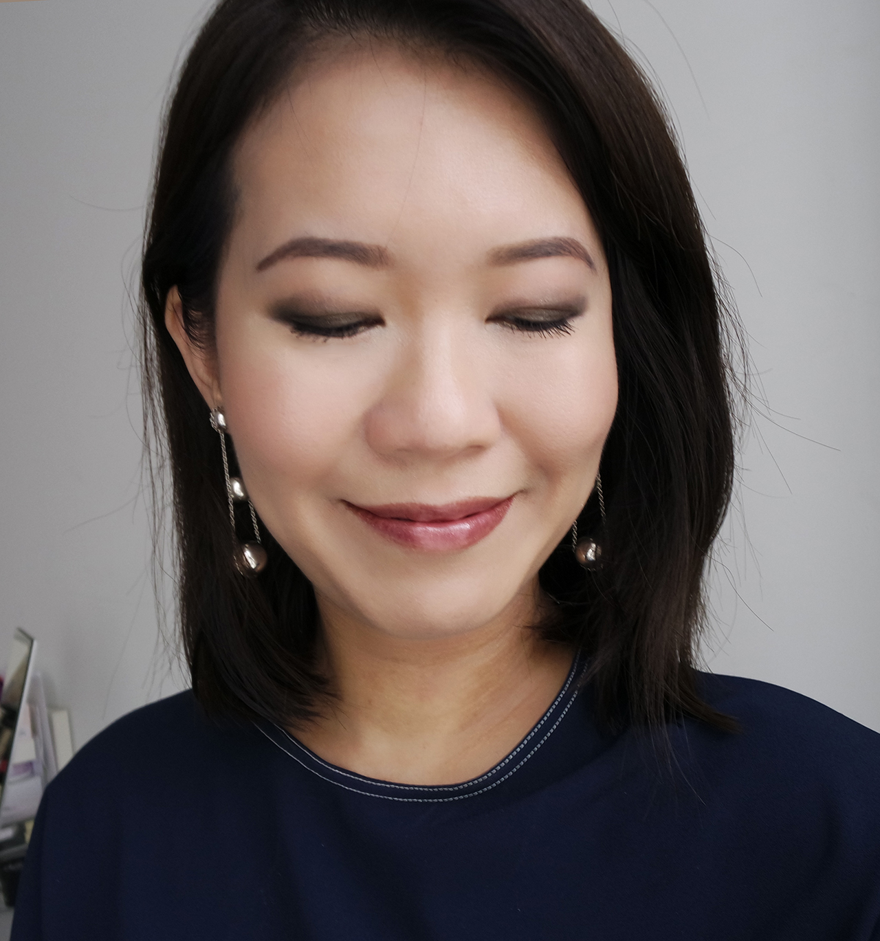 Nude makeup look from Chanel Le Libre Maximalisme