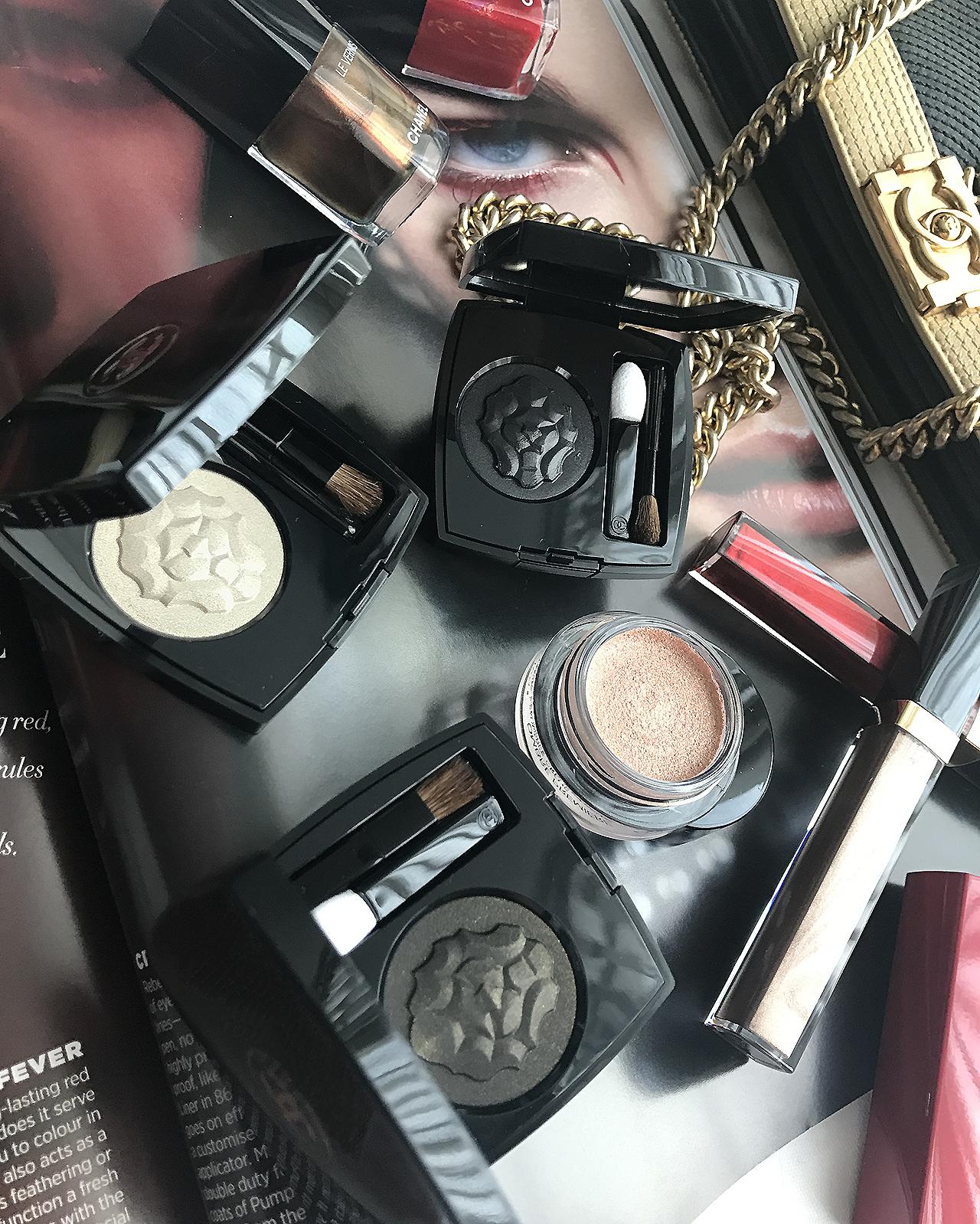 Collection Libre Maximalisme de Chanel Ombre Premiere Powder & Creme