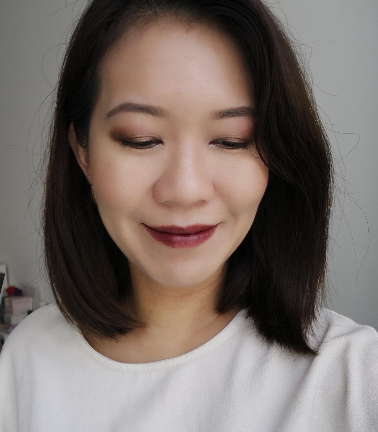 Shu Uemura La Maison du Chocolat makeup look