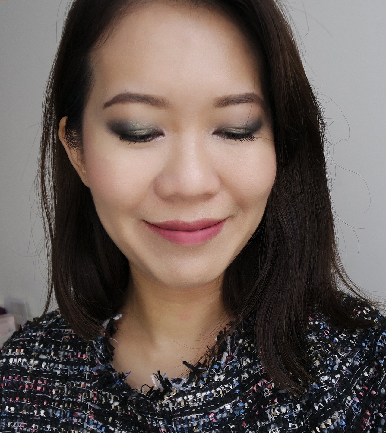 Zoeva Eclectic Eyes makeup look
