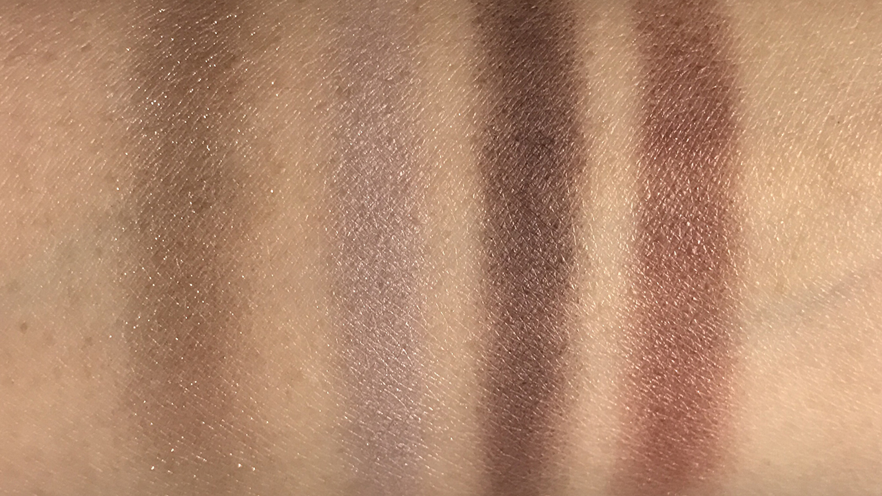 Lunasol AW2018 Nuance Shade Eyes 01 swatches