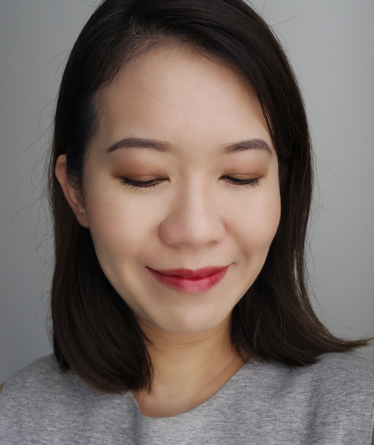 THREE Life of the Party Palette makeup look