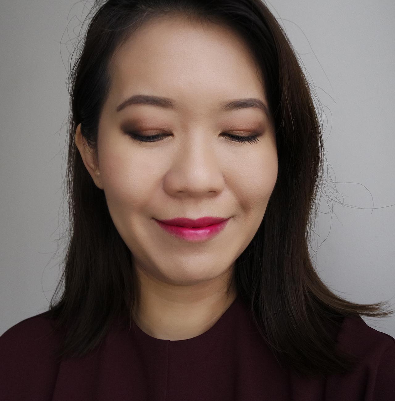 Tom Ford Winter Soleil 2018 Eye & Cheek Palette makeup look