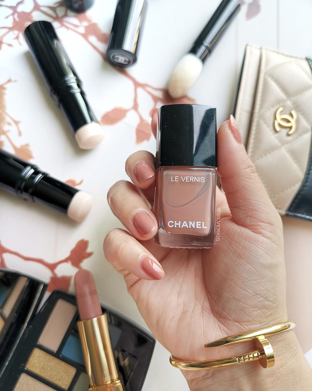 Chanel Le Vernis Bleached Mauve