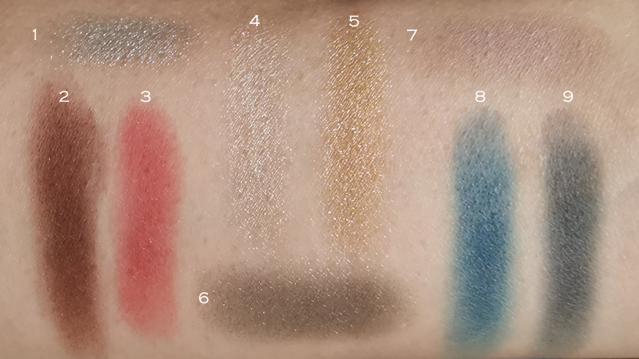 Chanel Les 9 Ombres No.2 Quintessence swatches