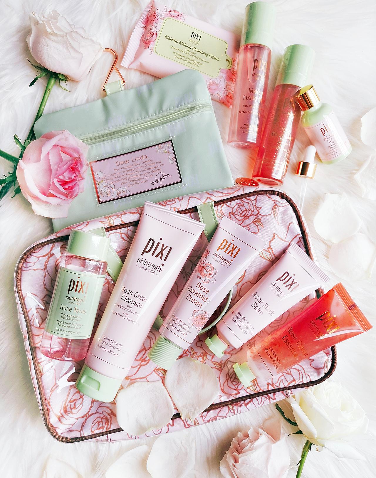 Pixi Rose Skincare range