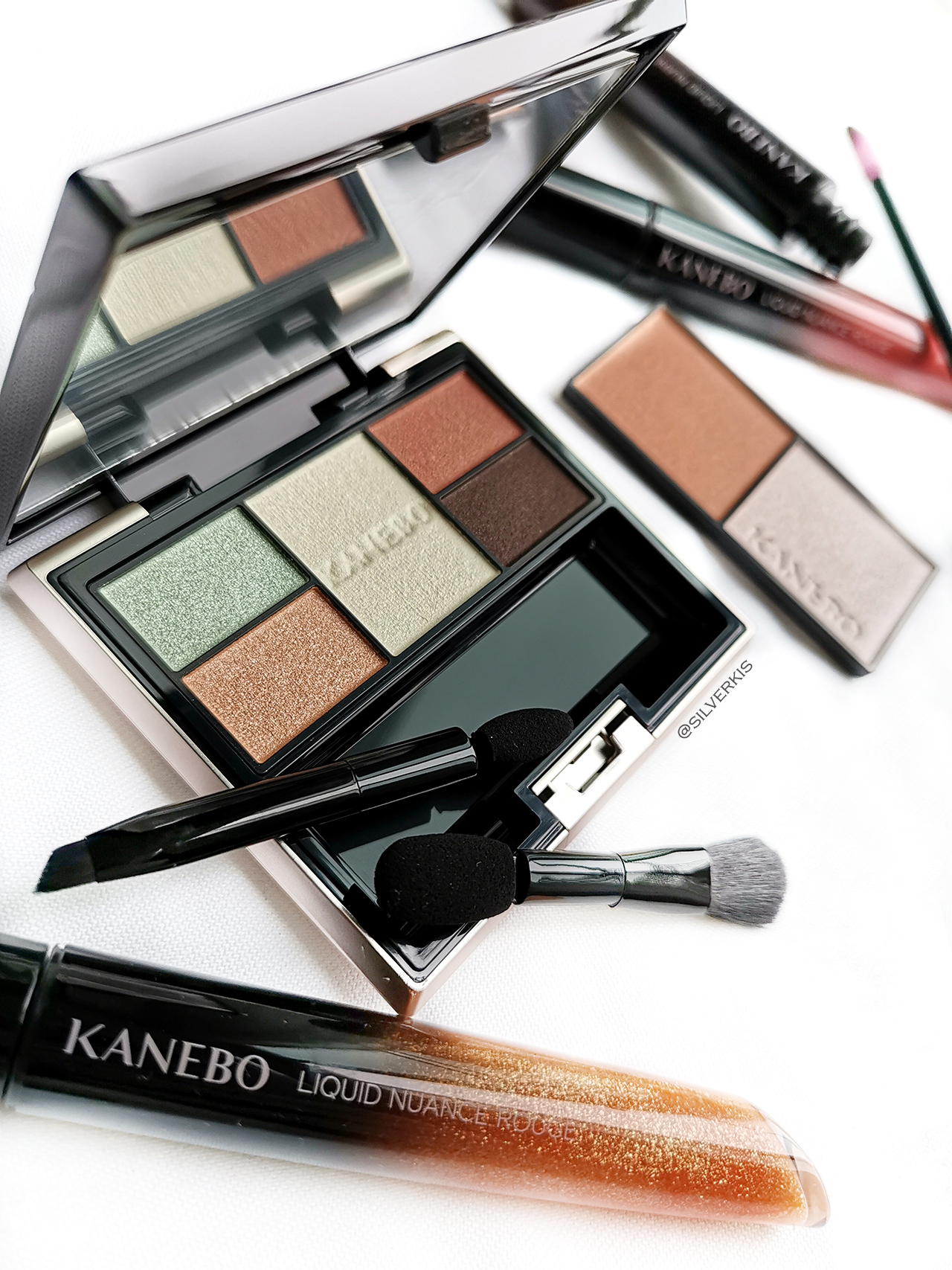 Kanebo Selection Colors Eyeshadow 07 Botanic Orange