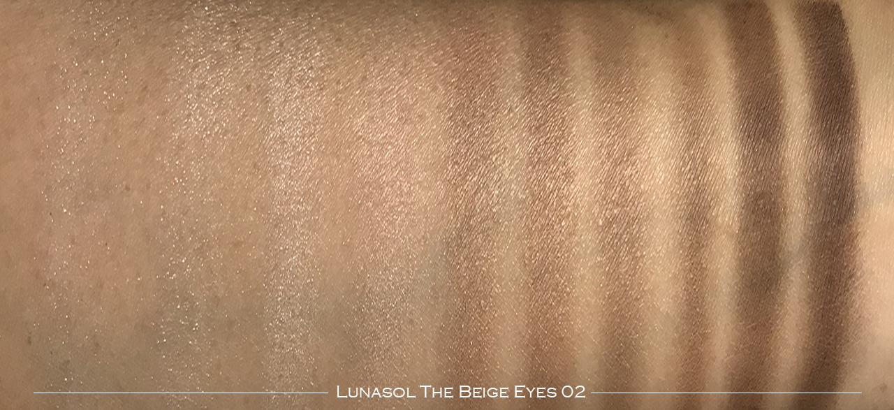Lunasol The Beige Eyes 02 swatches