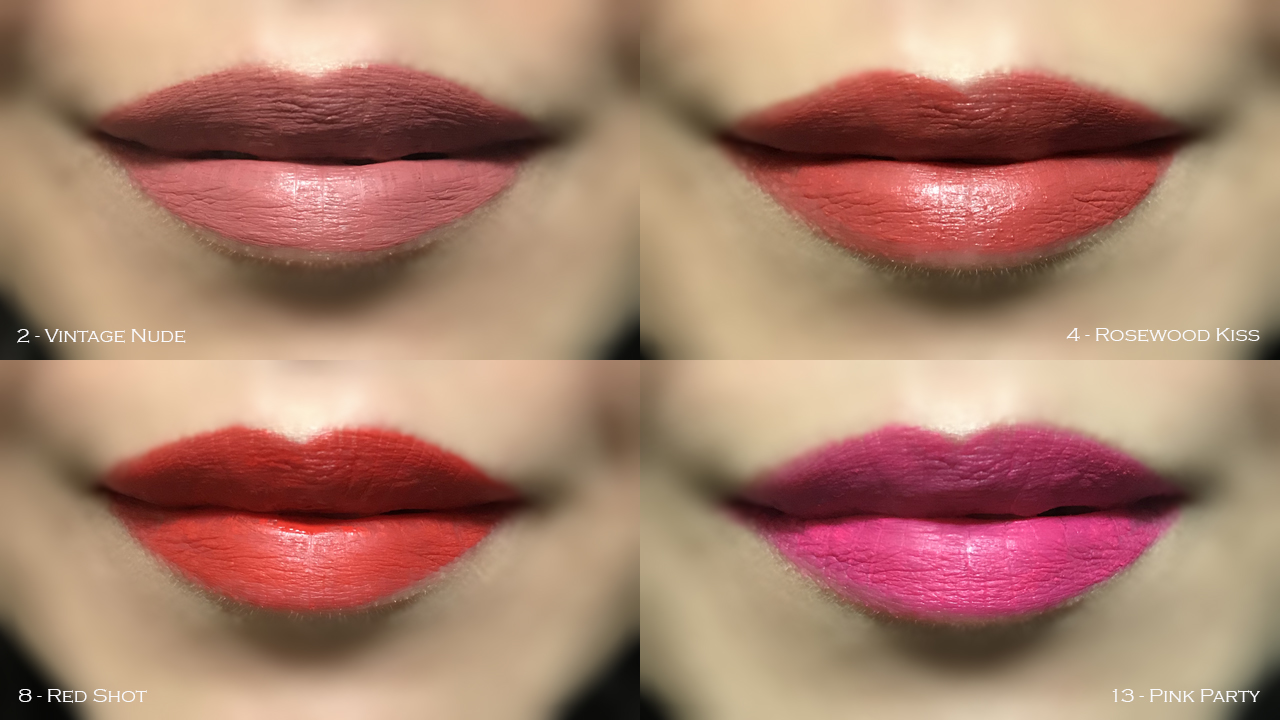 By Terry Lip-Expert Matte lip swatches