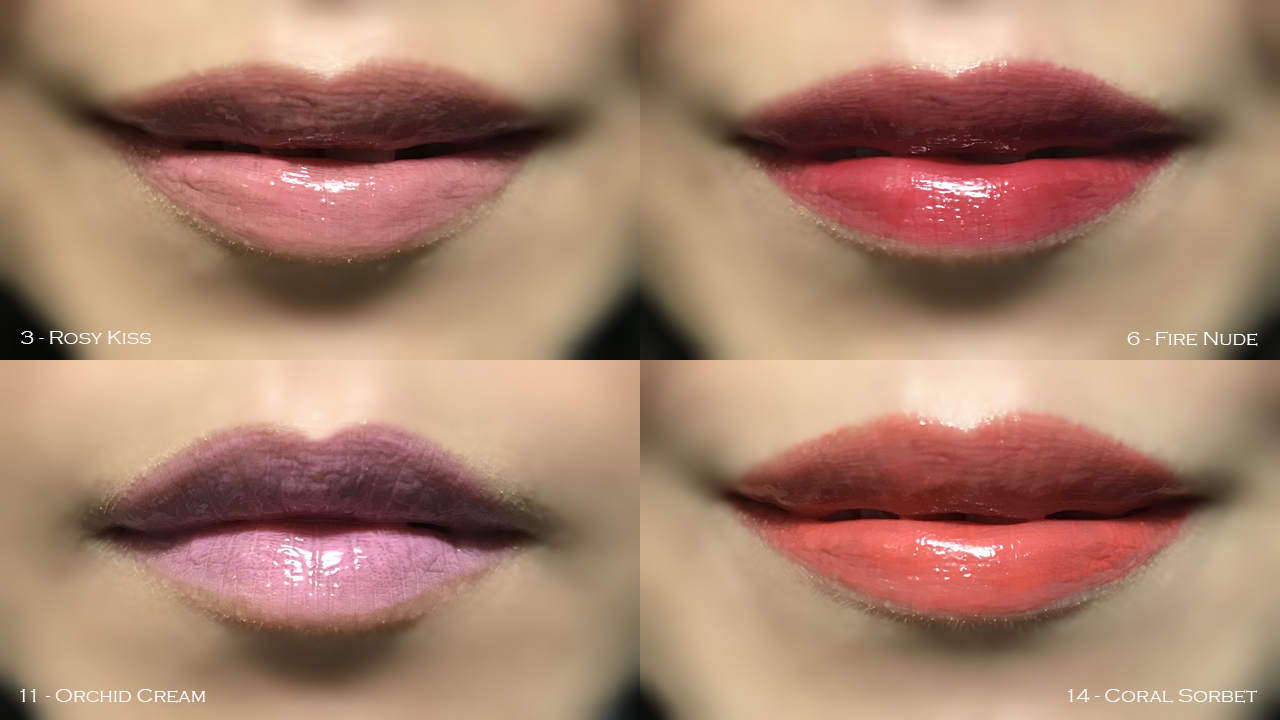 By Terry Lip-Expert Shine lip swatches