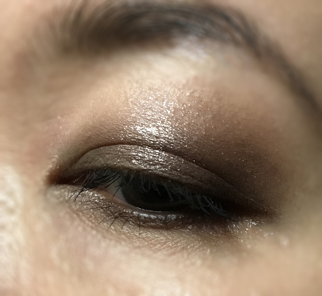 Chanel Les Beiges Natural Eyeshadow Palette eye makeup look
