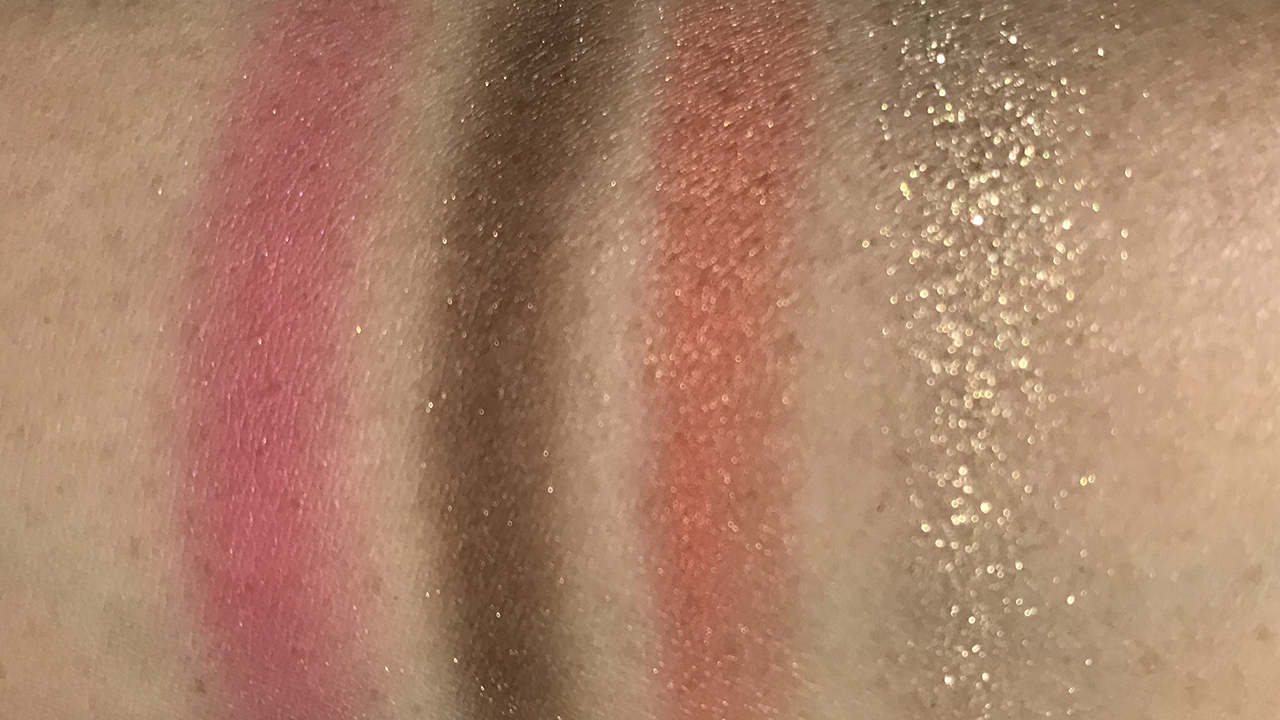 Lunasol Contrasting Color Eyes EX01 swatches