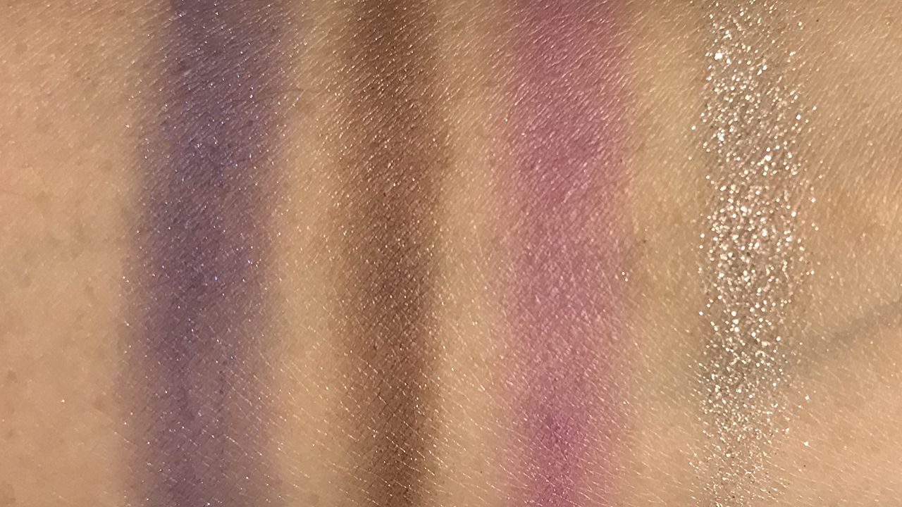 Lunasol Contrasting Color Eyes EX02 swatches