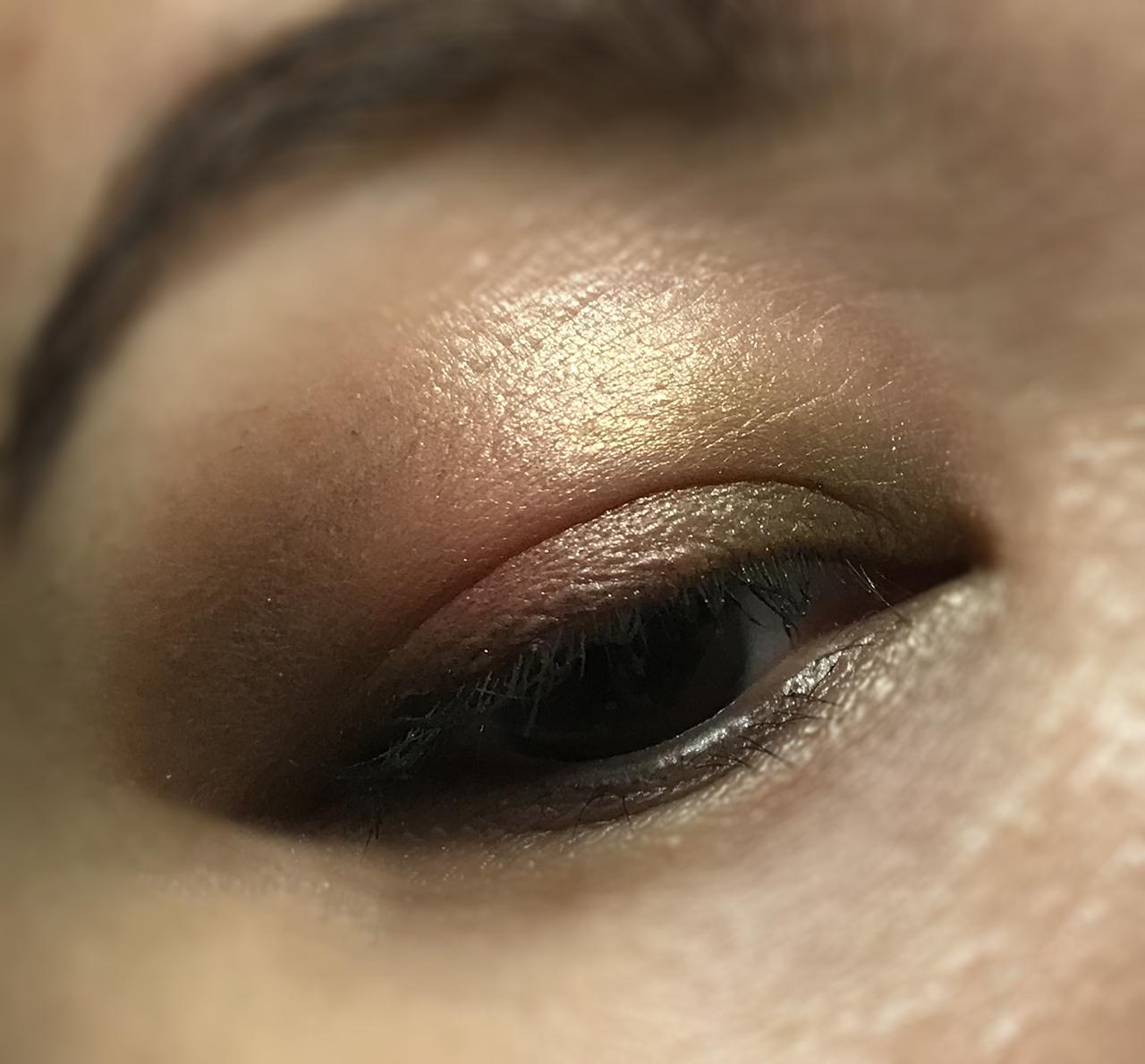 SUQQU Eyeshadow Compact 101 EOTD 2