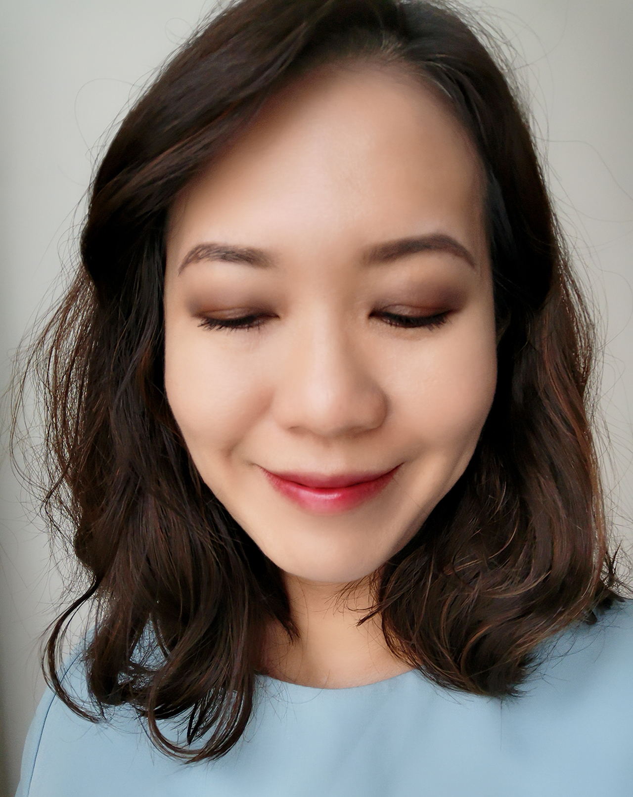 Chanel Blurry Mauve makeup look