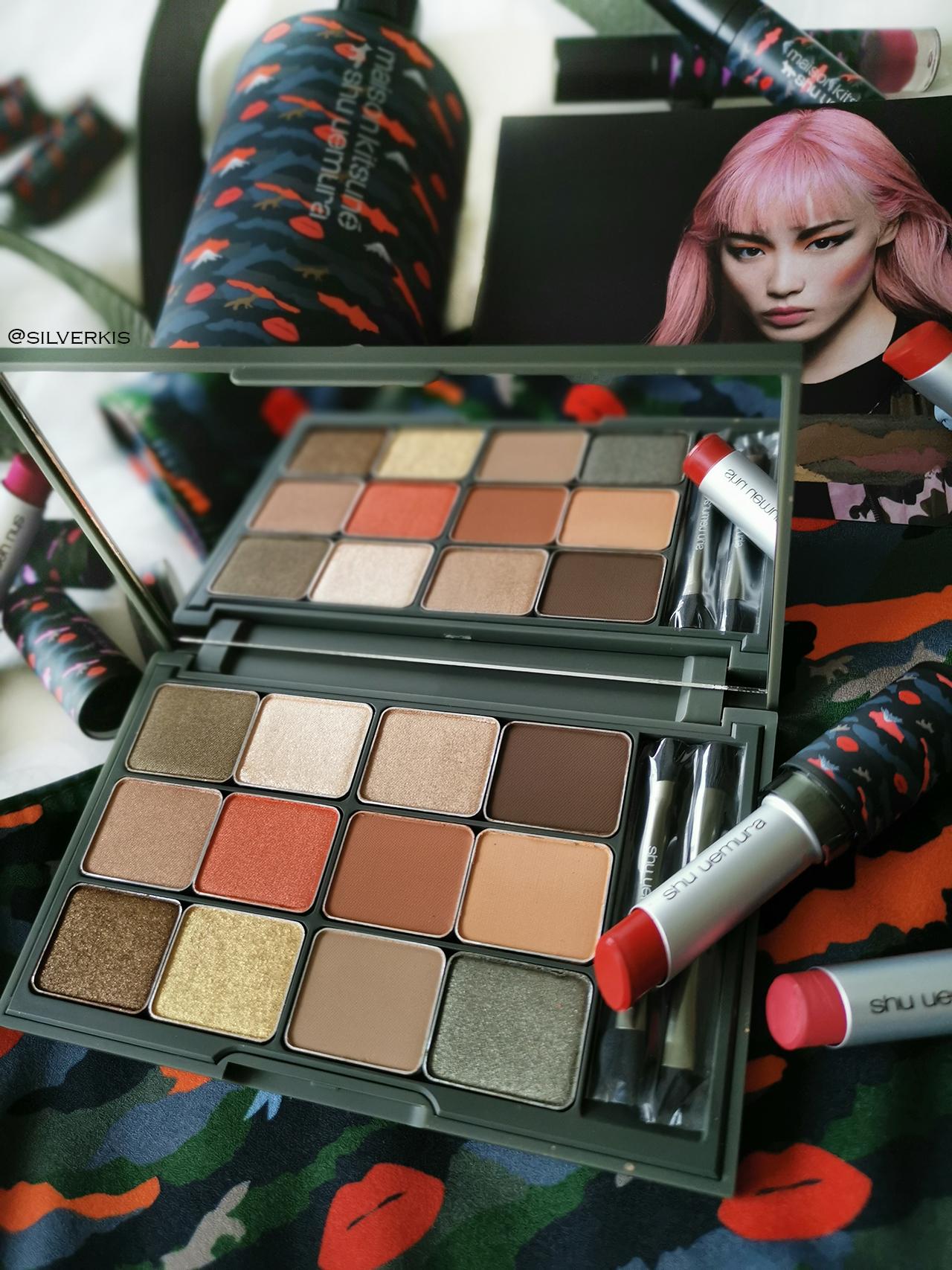Maison Kitsuné x shu uemura Camo Eyeshadow Palette