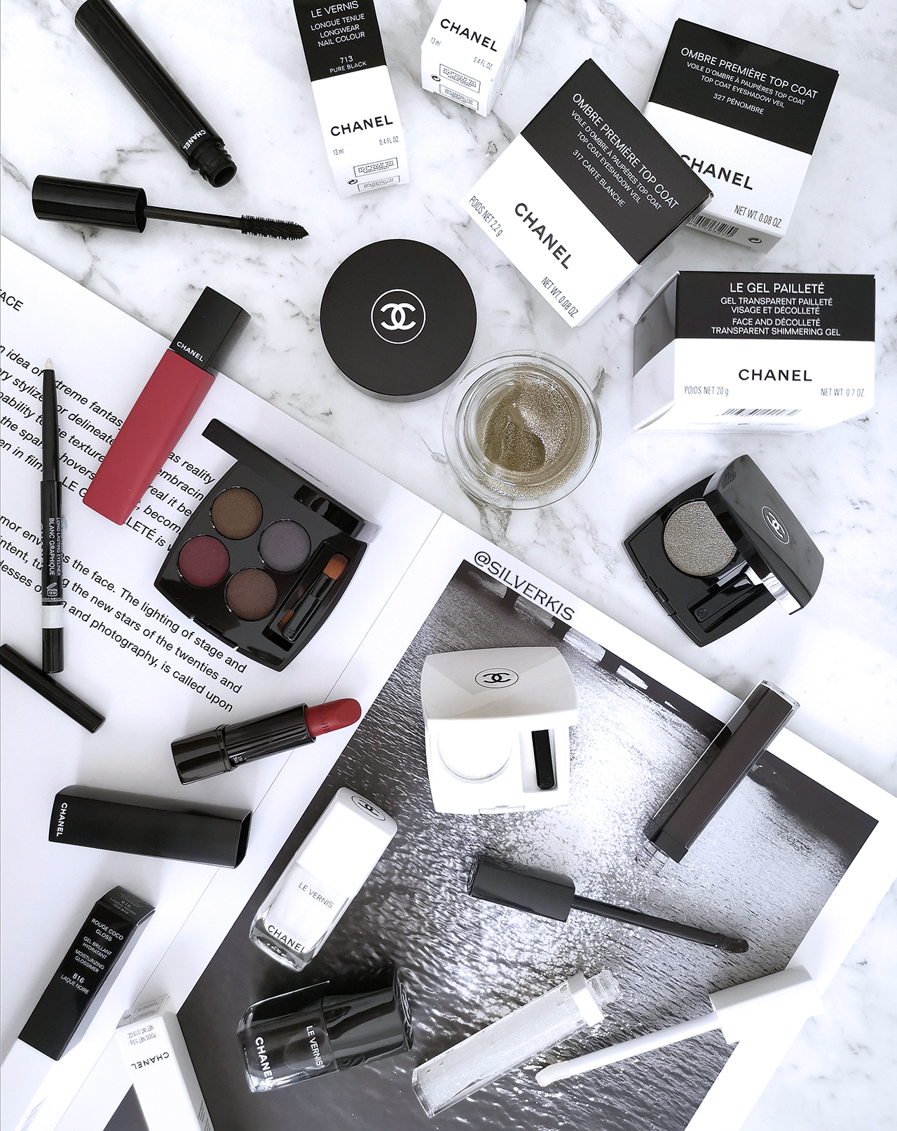 Chanel Noir et Blanc collection