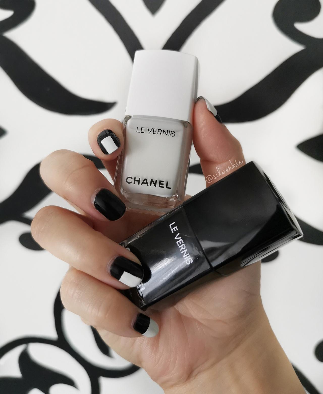 Chanel Noir et Blanc Le Vernis