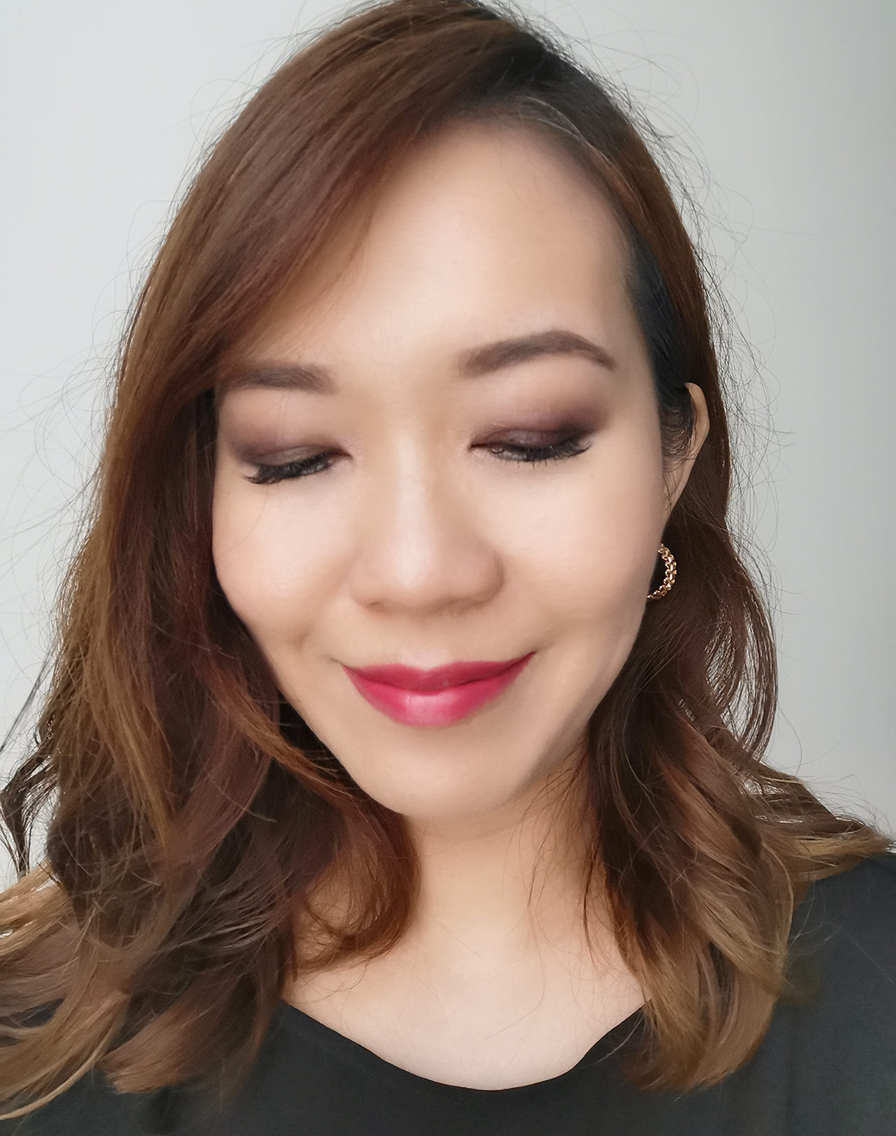 SUQQU UK Holiday 2019 makeup look