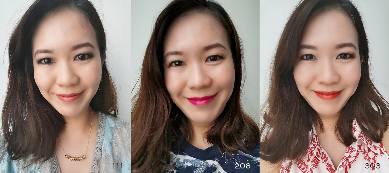 Estee Lauder Pure Color Desire lip swatches